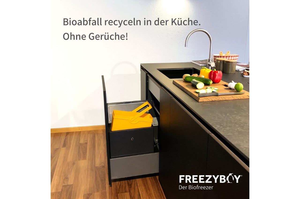 Bioabfall recyceln in der Küche
